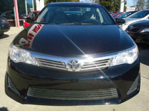 2012 Toyota Camry for sale at Pars Auto Sales Inc in Stone Mountain GA