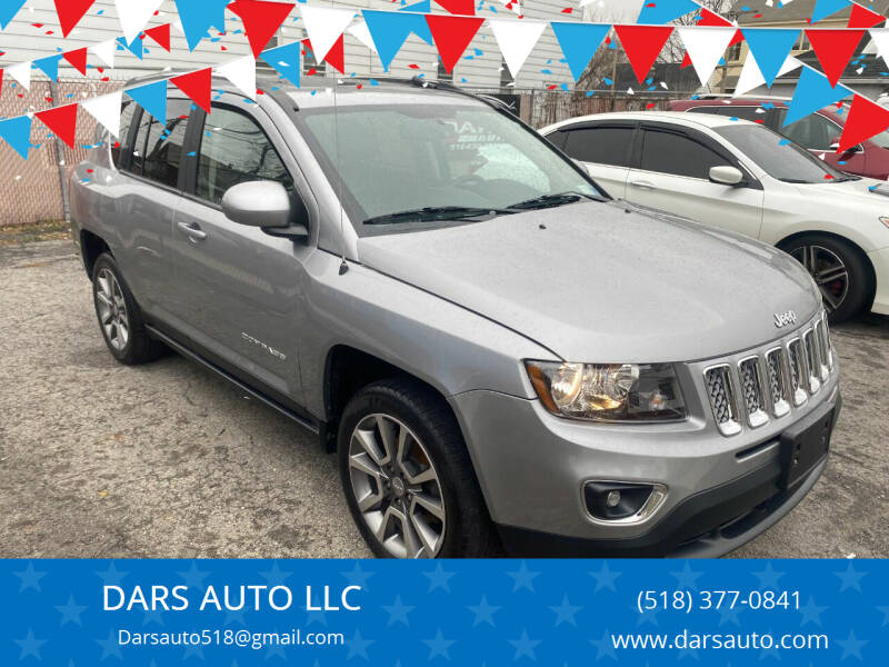 2016 Jeep Compass for sale at DARS AUTO LLC in Schenectady NY