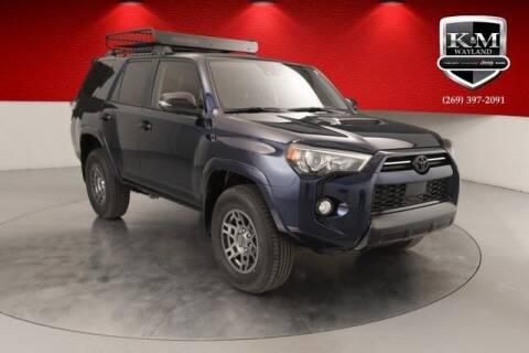 2020 Toyota 4Runner for sale at K&M Wayland Chrysler  Dodge Jeep Ram in Wayland MI