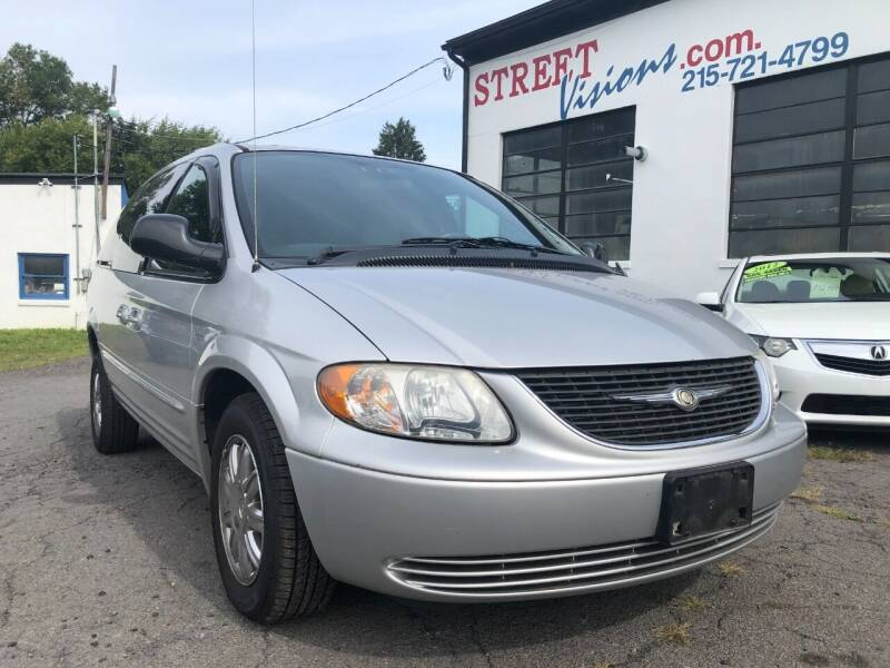 2004 Chrysler Town and Country for sale at Street Visions in Telford PA