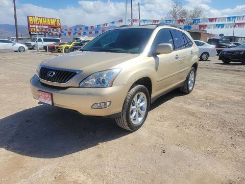 2009 Lexus RX 350 for sale at Bickham Used Cars in Alamogordo NM