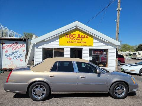 2007 Cadillac DTS for sale at ABC AUTO CLINIC in American Falls ID