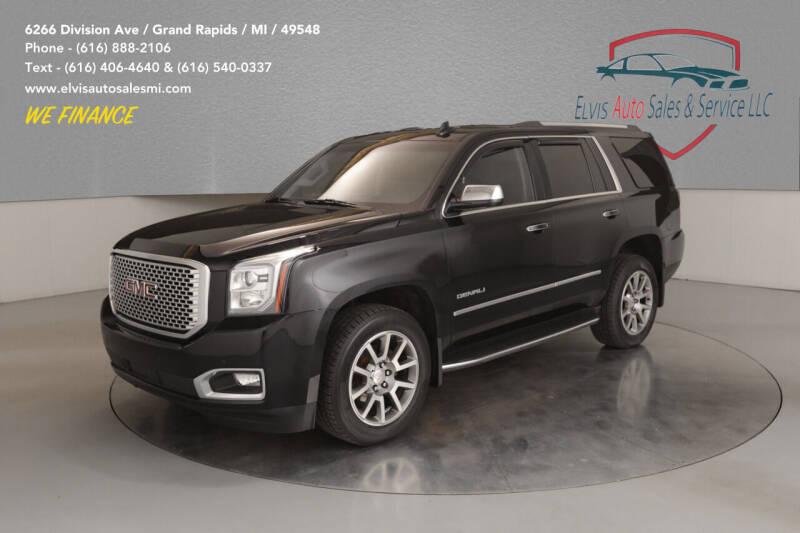 2017 GMC Yukon for sale at Elvis Auto Sales LLC in Grand Rapids MI