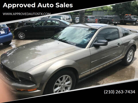2005 Ford Mustang for sale at Approved Auto Sales in San Antonio TX