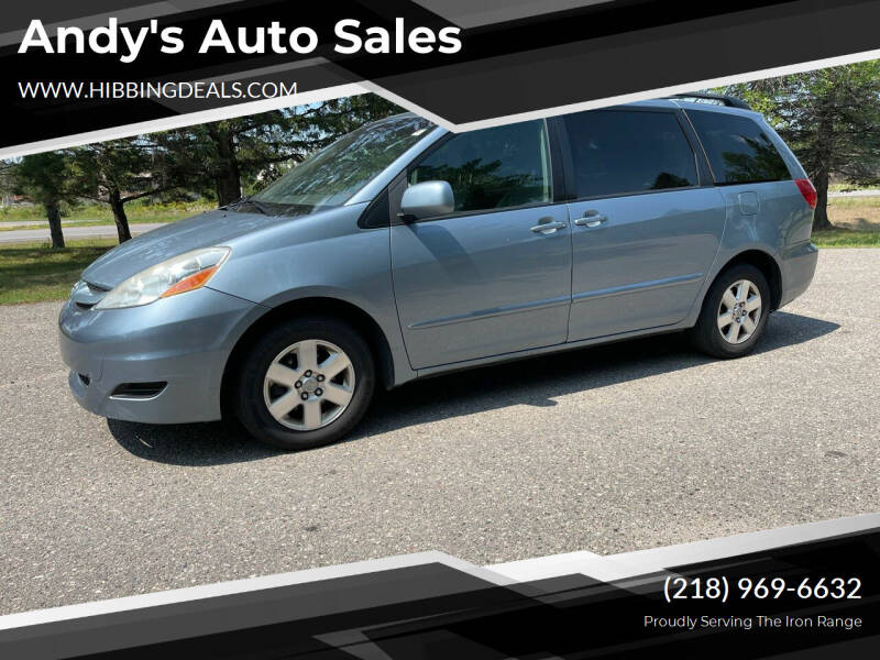 2010 Toyota Sienna for sale at Andy's Auto Sales in Hibbing MN