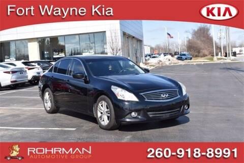 2013 Infiniti G37 Sedan for sale at BOB ROHRMAN FORT WAYNE TOYOTA in Fort Wayne IN