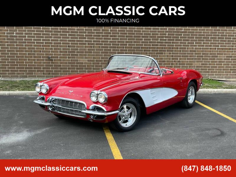 1961 Chevrolet Corvette for sale at MGM CLASSIC CARS in Addison, IL