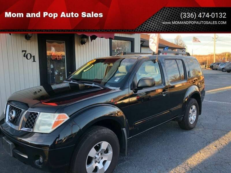 2006 Nissan Pathfinder for sale at Mom and Pop Auto Sales LLC in Thomasville NC