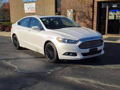 2015 Ford Fusion for sale at Mighty Motors in Adrian MI