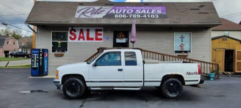 1998 Chevrolet C/K 1500 Series for sale at Ritz Auto Sales, LLC in Paintsville KY