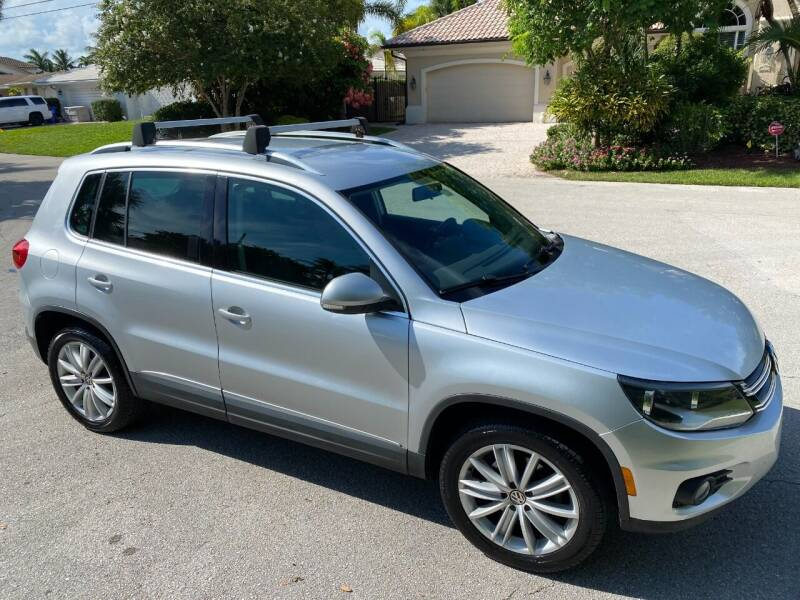 2012 Volkswagen Tiguan for sale at Exceed Auto Brokers in Lighthouse Point FL