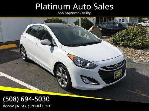 2013 Hyundai Elantra GT for sale at Platinum Auto Sales in South Yarmouth MA