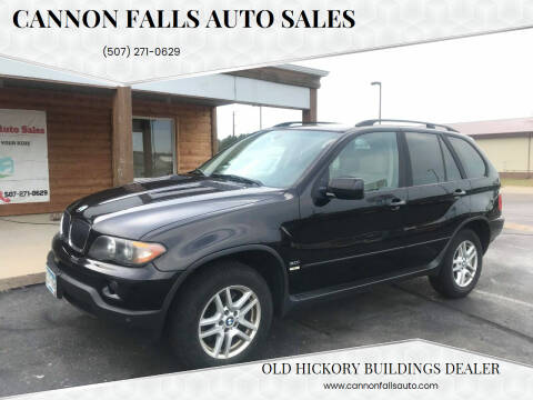 2004 BMW X5 for sale at Cannon Falls Auto Sales in Cannon Falls MN