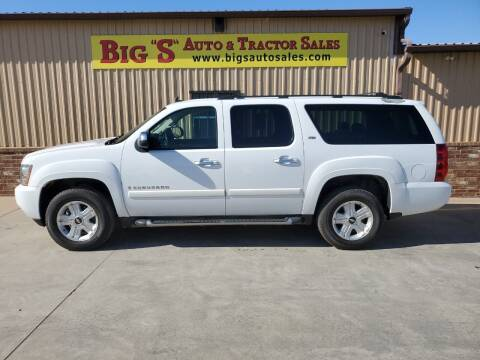 2007 Chevrolet Suburban for sale at BIG 'S' AUTO & TRACTOR SALES in Blanchard OK