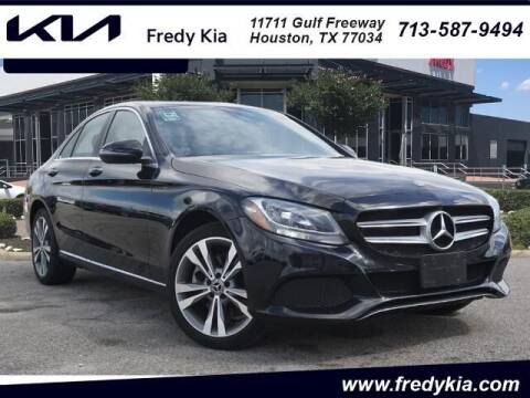 2018 Mercedes-Benz C-Class for sale at FREDY KIA USED CARS in Houston TX