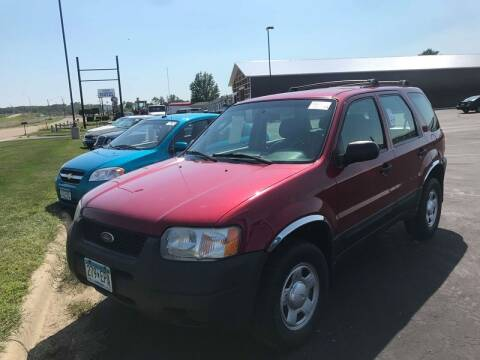 2004 Ford Escape for sale at Cannon Falls Auto Sales in Cannon Falls MN