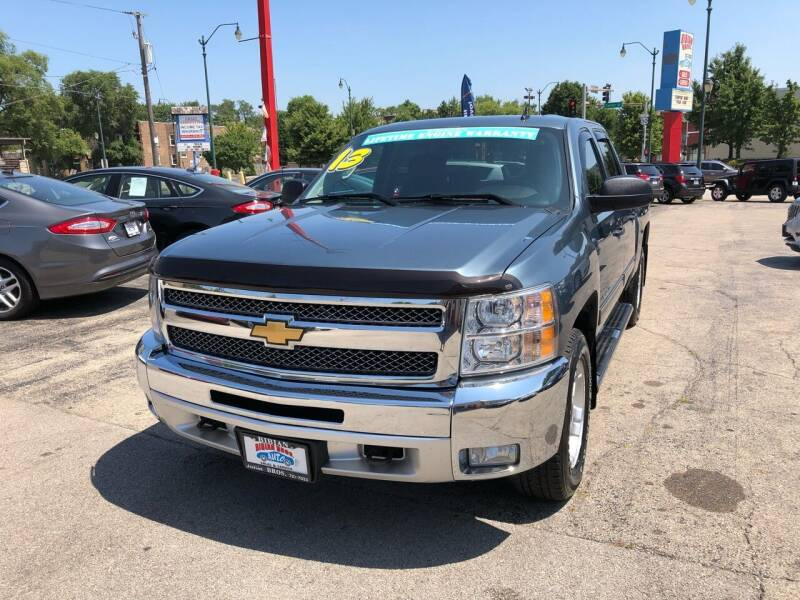 2013 Chevrolet Silverado 1500 for sale at Bibian Brothers Auto Sales & Service in Joliet IL