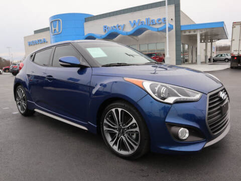 2017 Hyundai Veloster for sale at RUSTY WALLACE HONDA in Knoxville TN