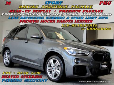 2018 BMW X1 for sale at SAN DIEGO BEEMERS in San Diego CA