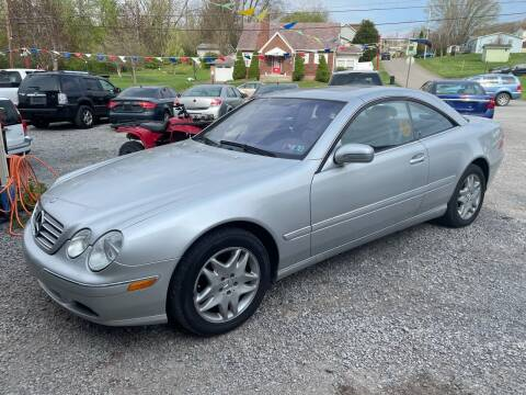 2002 Mercedes-Benz CL-Class for sale at Trocci's Auto Sales in West Pittsburg PA