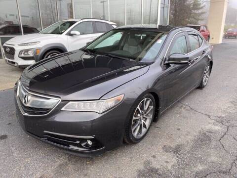 2015 Acura TLX for sale at Credit Union Auto Buying Service in Winston Salem NC