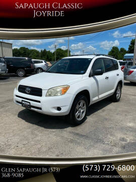 2007 Toyota RAV4 for sale at Sapaugh Classic Joyride in Salem MO