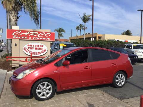 2009 Toyota Prius for sale at CARCO SALES & FINANCE #2 in Chula Vista CA