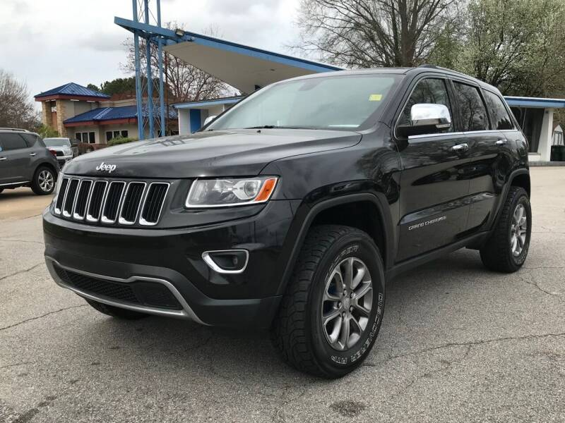 2014 Jeep Grand Cherokee for sale at GR Motor Company in Garner NC