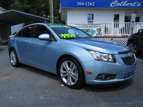 2012 Chevrolet Cruze for sale at Colbert's Auto Outlet in Hickory NC