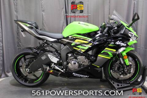 2019 Kawasaki Ninja ZX-6R ABS KRT Edition for sale at Powersports of Palm Beach in Hollywood FL