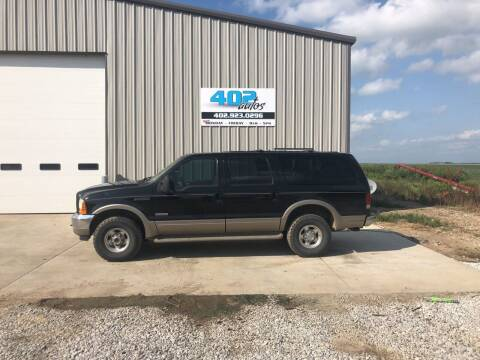 2000 Ford Excursion for sale at 402 Autos in Lindsay NE
