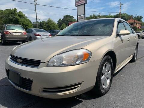 2009 Chevrolet Impala for sale at Modern Automotive in Boiling Springs SC