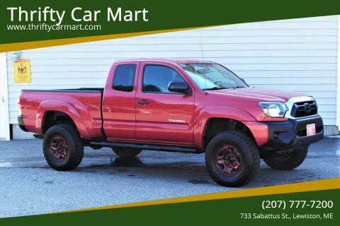 2013 Toyota Tacoma for sale at Thrifty Car Mart in Lewiston ME