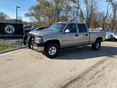 2001 Chevrolet Silverado 2500HD for sale at Station 45 Auto Sales Inc in Allendale MI
