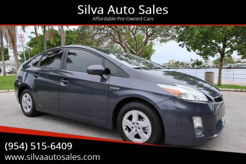 2010 Toyota Prius for sale at Silva Auto Sales in Pompano Beach FL