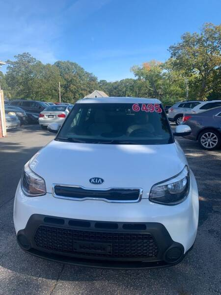 2014 Kia Soul for sale at MBM Auto Sales and Service in East Sandwich MA
