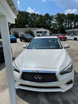 2018 Infiniti Q50 for sale at Gralin Hampton Auto Sales in Summerville SC