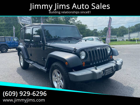 2010 Jeep Wrangler Unlimited for sale at Jimmy Jims Auto Sales in Tabernacle NJ