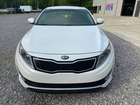 2013 Kia Optima Hybrid for sale at Anaheim Auto Auction in Irondale AL
