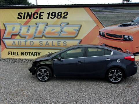 2015 Kia Forte for sale at Pyles Auto Sales in Kittanning PA