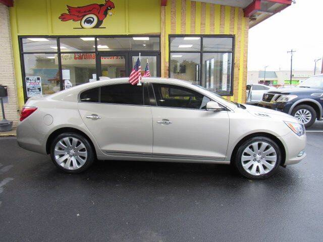 2016 Buick LaCrosse for sale at Cardinal Motors in Fairfield OH