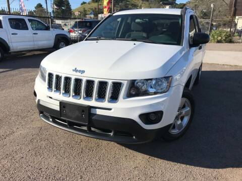 2014 Jeep Compass for sale at Vtek Motorsports in El Cajon CA