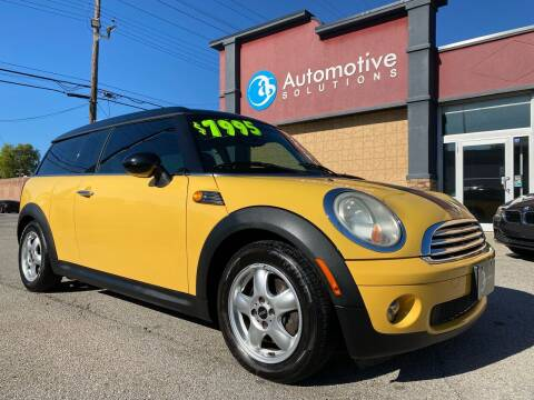 2009 MINI Cooper Clubman for sale at Automotive Solutions in Louisville KY