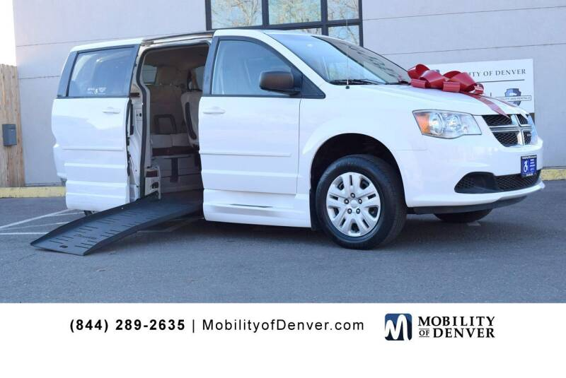 2014 Dodge Grand Caravan for sale at CO Fleet & Mobility in Denver CO