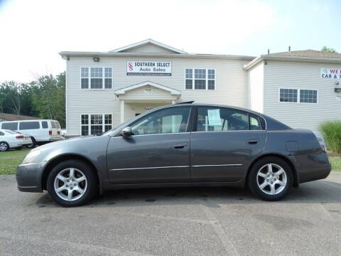 2005 Nissan Altima for sale at SOUTHERN SELECT AUTO SALES in Medina OH