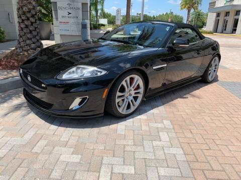 2013 Jaguar XK for sale at Mirabella Motors in Tampa FL