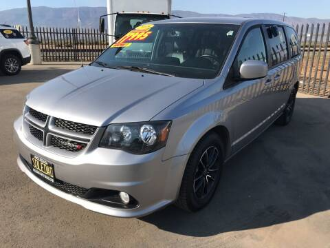 2018 Dodge Grand Caravan for sale at Soledad Auto Sales in Soledad CA