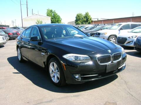 2012 BMW 5 Series for sale at Avalanche Auto Sales in Denver CO