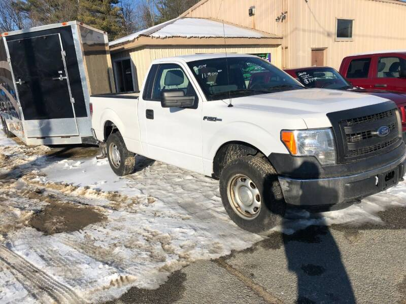 2014 Ford F-150 for sale at Randys Auto Sales in Gardner MA