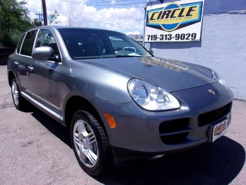 2004 Porsche Cayenne for sale at Circle Auto Center in Colorado Springs CO